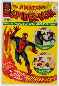 The Amazing Spider-Man #8 (Marvel, 1964) Condition: GD