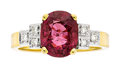 Estate Jewelry:Rings, Ruby, Diamond, Gold Ring . ...