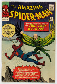 The Amazing Spider-Man #7 (Marvel, 1963) Condition: GD/VG