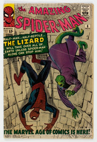 The Amazing Spider-Man #6 (Marvel, 1963) Condition: GD/VG