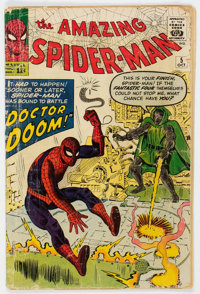 The Amazing Spider-Man #5 (Marvel, 1963) Condition: Incomplete
