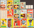 Football Cards:Lots, 1956-57 Topps Football Collection (13) Plus Extras. ...