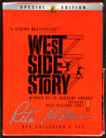 """Movie Posters:Academy Award Winners, West Side Story (MGM Home Entertainment, 2003). Very Fine-. Autographed Special Edition DVD Set (6"""" X 7.75""""). Academy Award ..."""