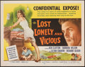 """Movie Posters:Exploitation, Lost, Lonely and Vicious & Other Lot (Howco, 1958). Rolled, Very Fine-. Half Sheets (2) (22"""" X 28""""). Exploitation.. ... (Total: 2 Items)"""