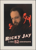 """Movie Posters:Miscellaneous, Ricky Jay and His 52 Assistants (HBO, 1996). Rolled, Very Fine+. Television Movie Poster (20"""" X 28"""") SS. Miscellaneous.. ..."""