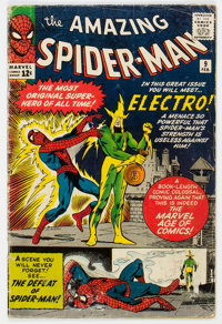 The Amazing Spider-Man #9 (Marvel, 1964) Condition: GD+