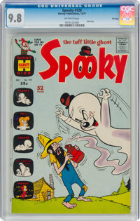 Spooky #128 File Copy (Harvey, 1971) CGC NM/MT 9.8 Off-white pages