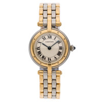Gold, Stainless Steel Panthere Watch, Cartier
