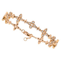 Diamond, Rose Gold Bracelet, Louis Vuitton
