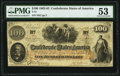 Confederate Notes:1862 Issues, T41 $100 1862 PF-11 Cr. 319A PMG About Uncirculated 53.. ...