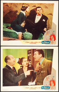 """Mister Universe (Pathe, 1951). Very Fine-. Lobby Cards (2) (11"""" X 14""""). Comedy. ... (Total: 2 Items)"""