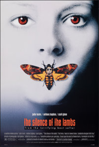 """The Silence of the Lambs (Orion, 1991). Rolled, Very Fine+. One Sheet (27"""" X 40"""") SS. Thriller"""