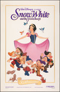 "Movie Posters:Animation, Snow White and the Seven Dwarfs (Buena Vista, R-1987). Rolled, Fine+. 50th Anniversary One Sheet (27"" X 41""). Animation.. ..."