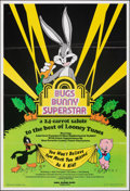 "Movie Posters:Animation, Bugs Bunny Superstar (Warner Bros., 1976). Folded, Very Fine-. Poster (24.75"" X 36.25""). Animation.. ..."