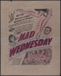 """Movie Posters:Comedy, Mad Wednesday (RKO, R-1950). Very Fine-. Unused Poster Concept Artwork (16"""" X 20""""). Comedy.. ..."""