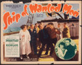 """Movie Posters:Drama, Ship of Wanted Men & Other Lot (Showmens Pictures, 1933). Fine. Half Sheets (2) (22"""" X 28""""). Drama.. ... (Total: 2 Items)"""