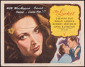 """Movie Posters:Film Noir, The Locket & Other Lot (RKO, 1946). Folded, Very Fine-. Half Sheets (2) (22"""" X 28"""") Style A. Film Noir.. ... (Total: 2 Items)"""