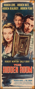"""Movie Posters:Thriller, Obsession (Eagle Lion, 1949). Fine. Insert (14"""" X 36""""), Title Lobby Card & Lobby Cards (6) (11"""" X 14""""). USA Release Title: ... (Total: 8 Items)"""