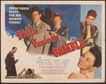 """Movie Posters:Mystery, Philo Vance's Gamble (PRC, 1947). Folded, Fine/Very Fine. Half Sheet (22"""" X 28"""") & Title Lobby Card (11"""" X 14"""". Mystery.. ... (Total: 2 Items)"""
