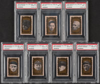 1963 Bazooka All-Time Greats PSA Graded Collection (7)