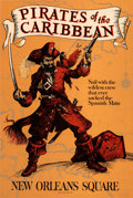 Movie Posters:Documentary, Pirates of the Caribbean Attraction Poster (Walt Disney Pr...