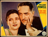 """For the Defense & Other Lot (Paramount, 1930). Very Fine-. Lobby Cards (2) (11"""" X 14""""). ... (Total: 2 Item..."""