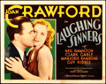 """Movie Posters:Drama, Laughing Sinners (MGM, 1931). Fine+. Title Lobby Card (11"""" X 14"""").. ..."""