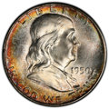 Franklin Half Dollars, 1950 50C MS66+ Full Bell Lines PCGS. CAC. PCGS Population: (323/23 and 54/2+). NGC Census: (56/3 and 2/0+). CDN: $375 Whsle...