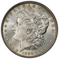 Morgan Dollars: , 1899 $1 MS65 PCGS. PCGS Population: (1557/358). NGC Census: (632/78). CDN: $575 Whsle. Bid for NGC/PCGS MS65. Mintage 330,8...