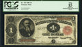 Fr. 352 $1 1891 Treasury Note PCGS Apparent Fine 15