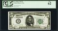 Fr. 1950-E $5 1928 Federal Reserve Note. PCGS New 62