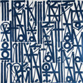 Paintings, RETNA (b. 1979). The Kings Way is the Only Way, 2015. Acrylic with diamond dust on canvas. 72 x 72 inches (182.9 x 182.9...