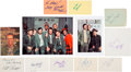 Movie/TV Memorabilia:Autographs and Signed Items, M*A*S*H Cast Signatures Collection (10)....