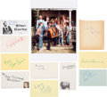 Movie/TV Memorabilia:Autographs and Signed Items, The Waltons Cast Signatures Collection (10).... (Total: 0 Items)