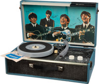 The Beatles Record Player With Hang Tag Still In Working Order (NEMS,1964)