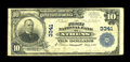 National Bank Notes:Tennessee, Athens, TN - $10 1902 Plain Back Fr. 624 The First NB Ch. # 3341....