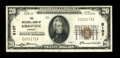 National Bank Notes:Missouri, Kirksville, MO - $20 1929 Ty. 1 The NB of Kirksville Ch. # 5107....
