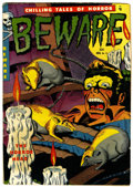 Golden Age (1938-1955):Horror, Beware #11 (Youthful Magazines, 1952) Condition: Apparent VG+....