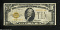 Small Size:Gold Certificates, Fr. 2400 $10 1928 Gold Certificate. Fine.