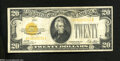 Small Size:Gold Certificates, Fr. 2402 $20 1928 Gold Certificate. Very Fine.