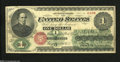 """Fr. 16 $1 1862 Legal Tender Note Very Fine+.A lovely example of our nation's first """"Greenback"""" Ace, with good..."""