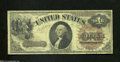Fr. 28 $1 1880 Legal Tender Note Very Good. The edges are lightly handled on this well circulated $1 with the large brow...