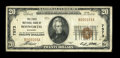 National Bank Notes:Missouri, Bosworth, MO - $20 1929 Ty. 1 The First NB Ch. # 7573. ...