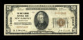 National Bank Notes:Pennsylvania, New Florence, PA - $20 1929 Ty. 1 The New Florence NB Ch. # 10353....