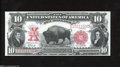 Large Size:Legal Tender Notes, Fr. 121 Mule $10 1901 Legal Tender Note Gem New. A ...