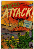 Golden Age (1938-1955):War, Atomic Attack #5 (Youthful Magazines, 1953) Condition: VF-....