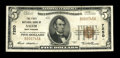 National Bank Notes:West Virginia, Salem, WV - $5 1929 Ty. 1 The First NB Ch. # 7250. ...