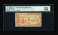 Colonial Notes:New Jersey, New Jersey March 25, 1776 L3 PMG About Uncirculated 55....