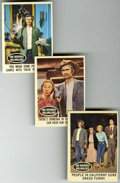 Memorabilia:Trading Cards, Beverly Hillbillies Trading Cards #1-66 Complete Set (Topps,1963)....