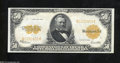 Large Size:Gold Certificates, Fr. 1200 $50 1922 Gold Certificate Extremely Fine-About ...